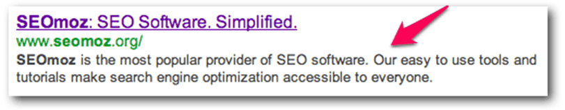 keyword in meta description.fw