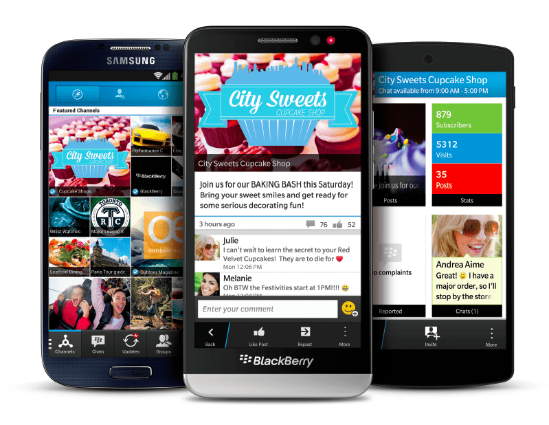 Are Facebook and Google Ads Now Showing on BBM?