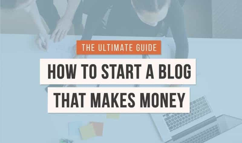The beginner s guide to making money with your blog in for How to build a blog