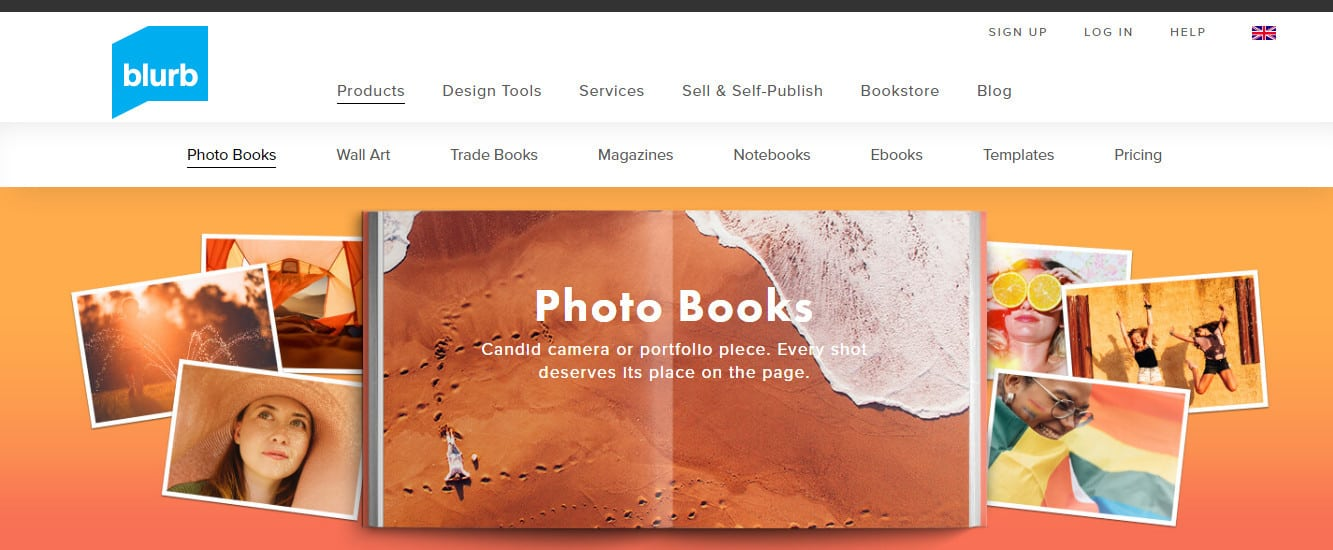publishing site for photography digital products