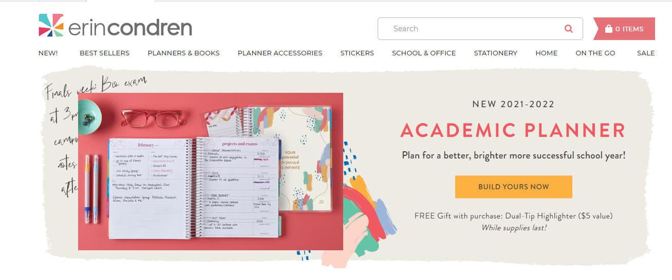 academic planner, example of digital products that can be created in a week