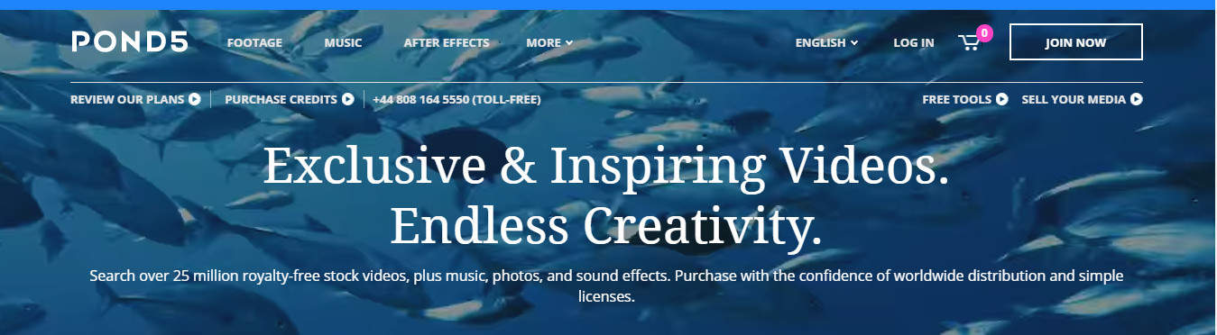 pond5 site for selling audio digital products created in a week