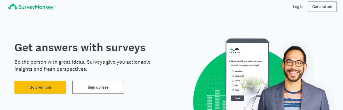 customer survey for service based content marketing strategy